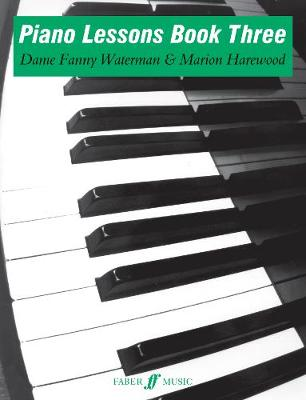 Piano Lessons Book Three - Piano Lessons (Paperback)