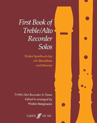 First Book Treble/Alto Recorder Solos (Sheet music)