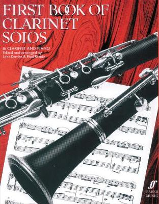 First Book Of Clarinet Solos (Paperback)