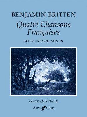 Quatre Chansons Francaises: (Vocal Score) (Paperback)