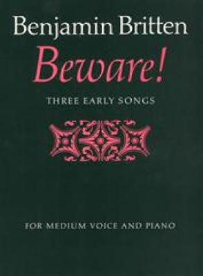 Beware! (Sheet music)