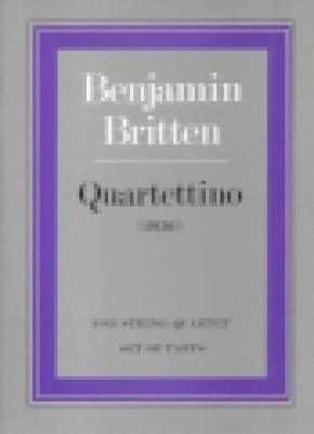 Quartettino for String Quartet: (parts) (Paperback)