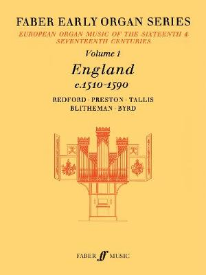 Early Organ Series 1. England 1510-1590 - Faber Early Organ Series (Sheet music)