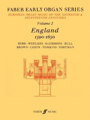 Early Organ Series 2. England 1590-1650 - Faber Early Organ Series (Sheet music)