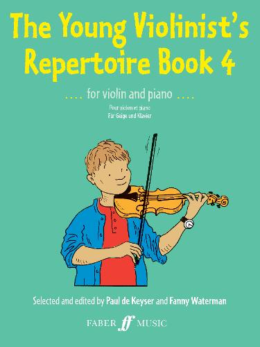 The Young Violinist's Repertoire Book 4 - The Young Violinist's Repertoire (Paperback)