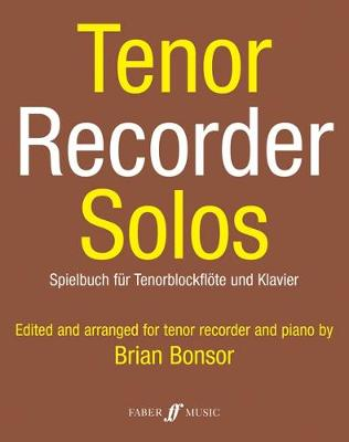 Tenor Recorder Solos (recorder & piano) (Sheet music)
