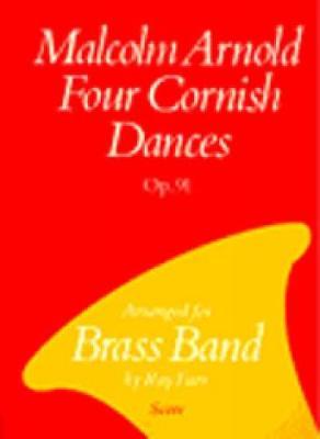Four Cornish Dances: Brass Band (score) (Paperback)