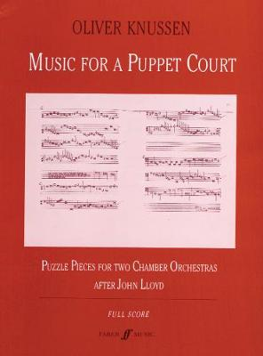 Music for a Puppet Court: (Score) (Paperback)