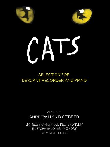 """""""Cats"""" Selection: (Descant Recorder and Piano) (Paperback)"""