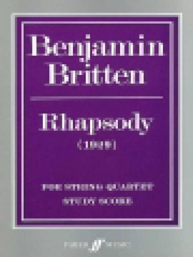 Rhapsody for String Quartet: (Score) (Paperback)