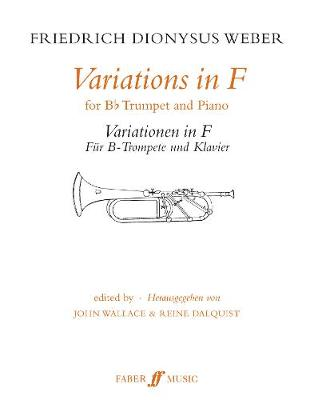 Variations in F: (Trumpet and Piano) (Paperback)