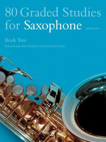80 Graded Studies for Saxophone: Bk. 2 (Paperback)