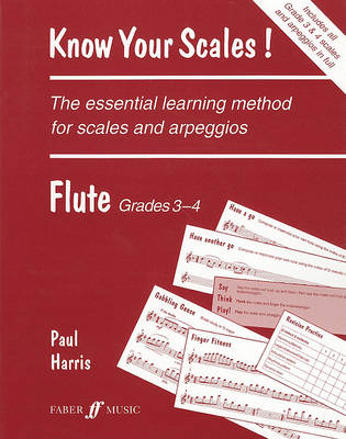 Know Your Scales: Know Your Scales! Flute, Grades 3-4 Grades 3-4 - Faber Edition (Paperback)
