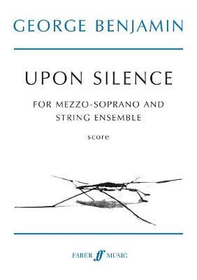 Upon Silence: (Voice and Strings) (Paperback)