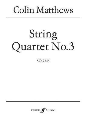String Quartet No. 3 (Paperback)