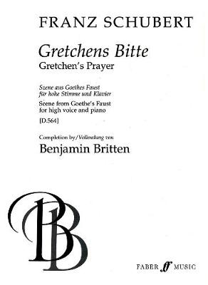 Gretchens Bitte: (Completed by Britten) (Paperback)