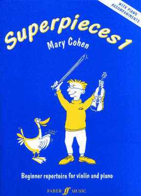 Superpieces: Bk. 1: (Violin and Piano) (Paperback)