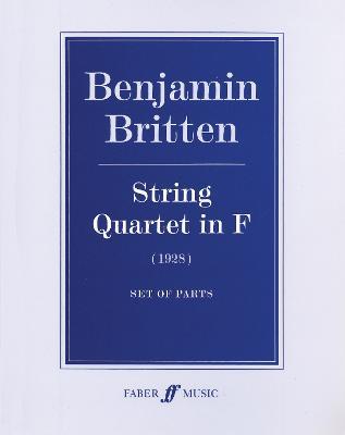 String Quartet in F: (Parts) (Paperback)