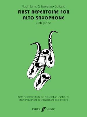 First Repertoire For Alto Saxophone - First Repertoire Series (Paperback)