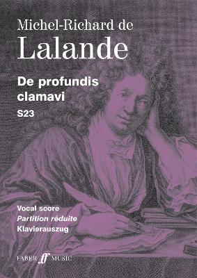 De Profundis Clamavi: (Vocal Score) (Paperback)