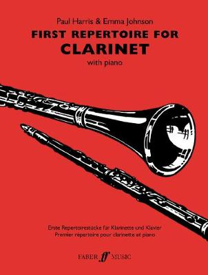 First Repertoire For Clarinet - First Repertoire Series (Paperback)