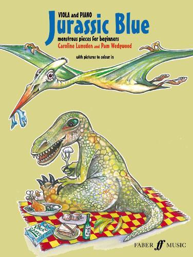 Jurassic Blue (Viola) (Paperback)