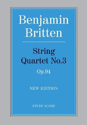 String Quartet No.3 (Paperback)