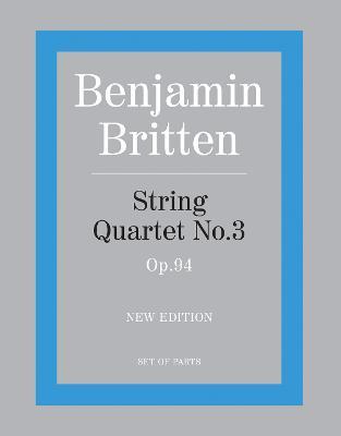 String Quartet No.3: (parts) (Paperback)