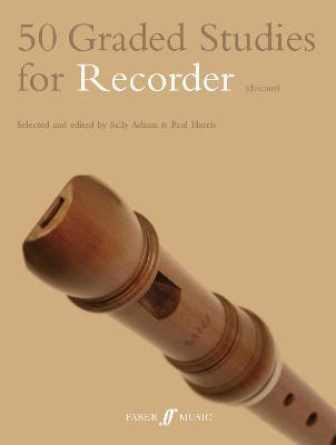 50 Graded Studies for Recorder - Graded Studies (Paperback)