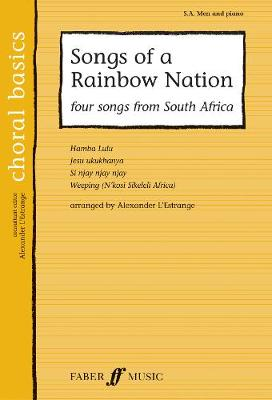 Songs Of A Rainbow Nation - Choral Basics Series (Paperback)