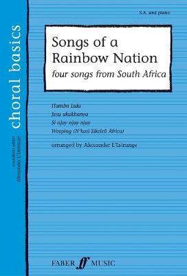Songs of a Rainbow Nation: SA Accompanied (Paperback)