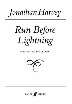Run Before Lightning: (Flute & Piano) (Paperback)