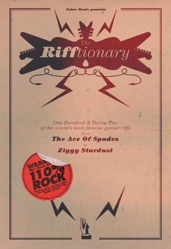 The Rifftionary: (Chord Songbook) (Paperback)