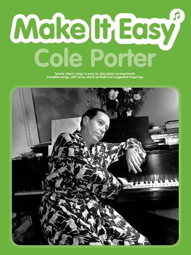 Cole Porter: (Piano/vocal/guitar) - Make it Easy (Paperback)