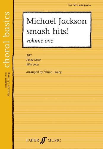Michael Jackson Smash Hits! Vol 1 - Choral Basics Series (Paperback)