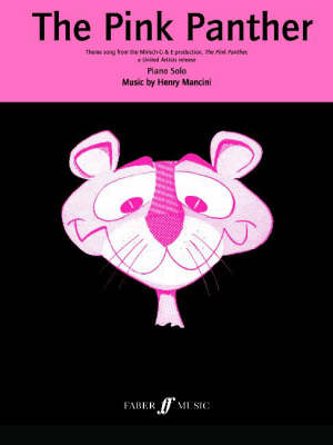 The Pink Panther Theme: (Piano Solo) (Paperback)
