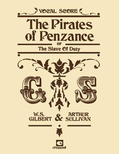 The Pirates Of Penzance (Vocal Score) (Paperback)