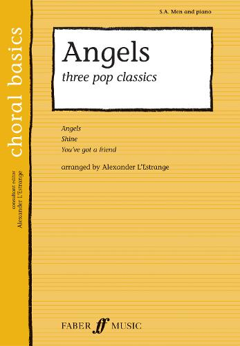 Angels: Three Pop Classics - Choral Basics Series (Paperback)