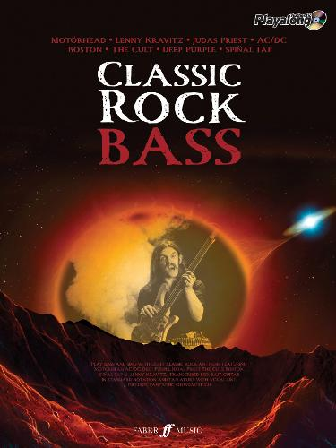 Classic Rock Authentic Bass Playalong: 8 Monstrous Rock Classics Arranged for Bass with Fantastic Soundalike CD - Authentic Playalong