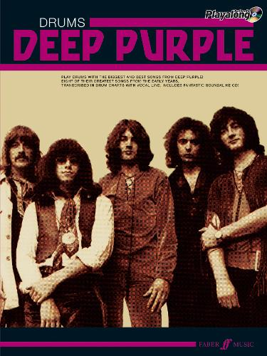 Deep Purple Authentic Playalong Drums: Drums Songbook - Authentic Playalong