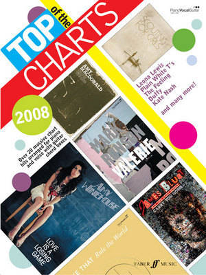Top of the Charts 2008 2008: (Piano/ Vocal/ Guitar) (Paperback)