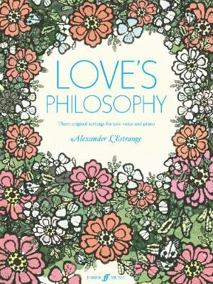 Love's Philosophy: (voice/piano) (Paperback)