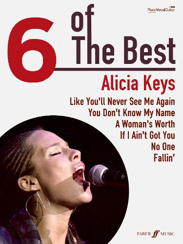 Alicia Keys: (Piano, Vocal, Guitar) - Six of the Best (Paperback)