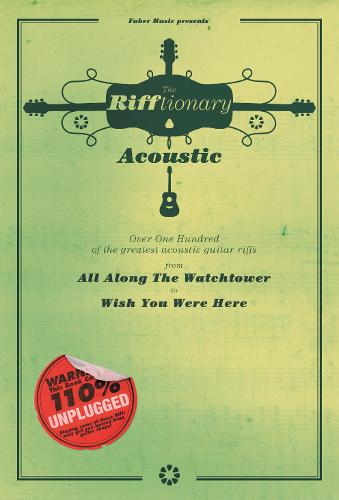 The Rifftionary Acoustic Guitar: (Chord Songbook) (Paperback)