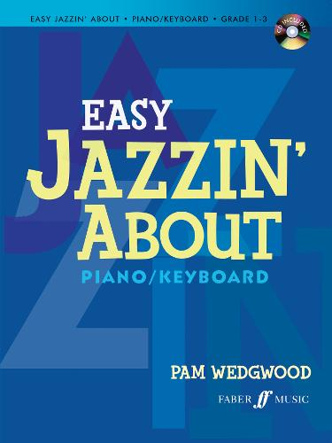 Easy Jazzin' About: (Piano/CD) (Paperback)