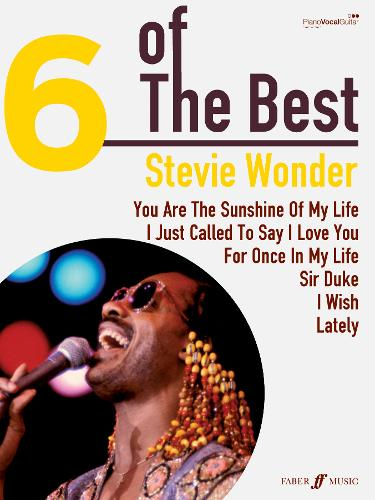 Stevie Wonder: (Piano, Vocal, Guitar) - Six of the Best (Paperback)