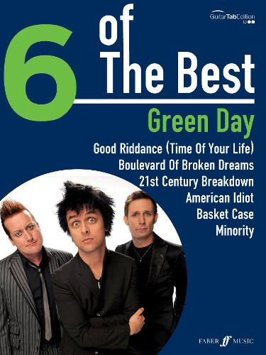 Green Day: (Guitar Tablature) - Six of the Best (Paperback)