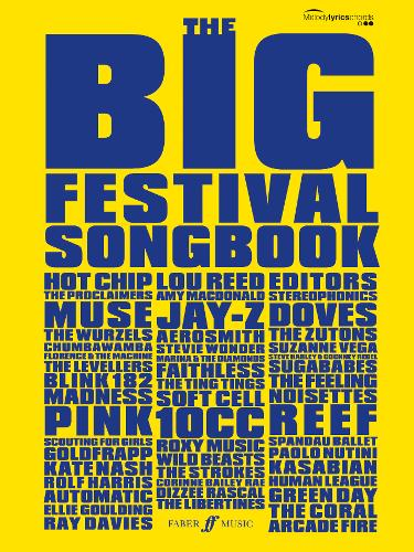 The Big Festival Songbook: (Melody, Lyrics, Chords) (Paperback)