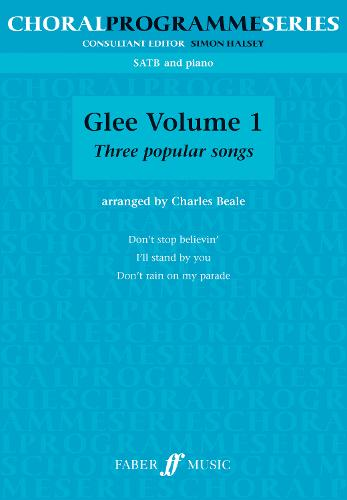 Glee (SATB): v. 1: (mixed Voices and Accompaniment) (Paperback)