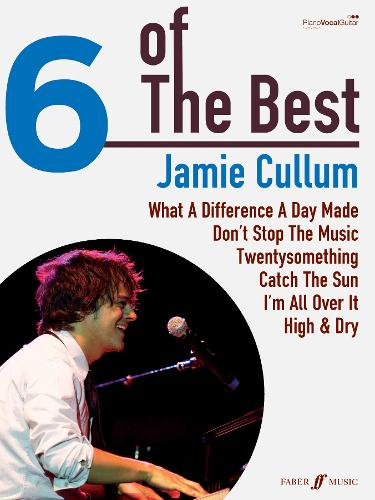 6 of the Best: Jamie Cullum: (Piano/Voice/Guitar) - Six of the Best (Paperback)